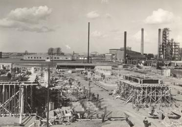 Geschiedenis Total Refinery Antwerp