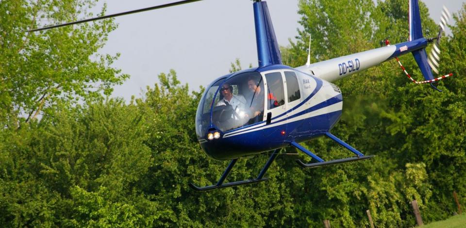 Helikopter pijpleidingdienst